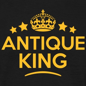 antique king keep calm style crown stars T-SHIRT - Men's T-Shirt