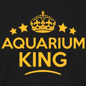 aquarium king keep calm style crown star T-SHIRT - Men's T-Shirt