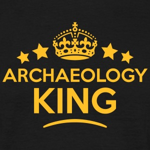 archaeology king keep calm style crown s T-SHIRT - Men's T-Shirt