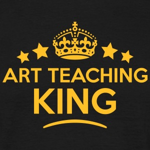 art teaching king keep calm style crown  T-SHIRT - Men's T-Shirt
