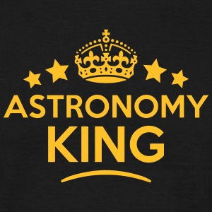 astronomy king keep calm style crown sta T-SHIRT - Men's T-Shirt