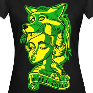 Wild Child Tattoo Edgy - Women's T-Shirt