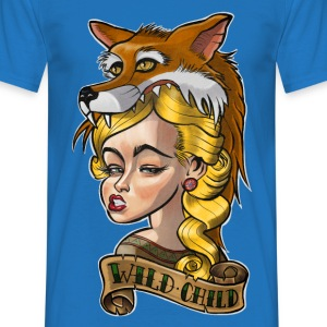 Wild Child Tattoo T-Shirts - Men's T-Shirt