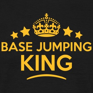 base jumping king keep calm style crown  T-SHIRT - Men's T-Shirt