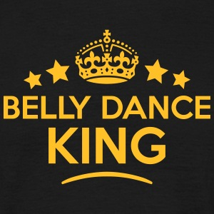 belly dance king keep calm style crown s T-SHIRT - Men's T-Shirt