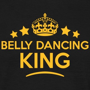 belly dancing king keep calm style crown T-SHIRT - Men's T-Shirt