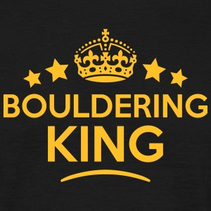 bouldering king keep calm style crown st T-SHIRT - Men's T-Shirt