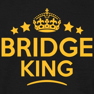 bridge king keep calm style crown stars T-SHIRT - Men's T-Shirt
