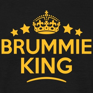 brummie king keep calm style crown stars T-SHIRT - Men's T-Shirt