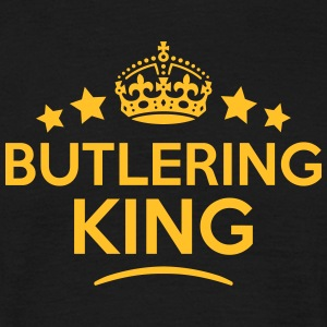 butlering king keep calm style crown sta T-SHIRT - Men's T-Shirt