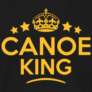 canoe king keep calm style crown stars T-SHIRT - Men's T-Shirt