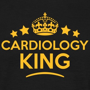 cardiology king keep calm style crown st T-SHIRT - Men's T-Shirt