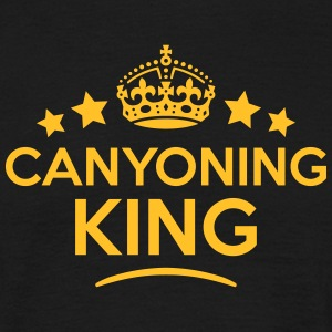 canyoning king keep calm style crown sta T-SHIRT - Men's T-Shirt