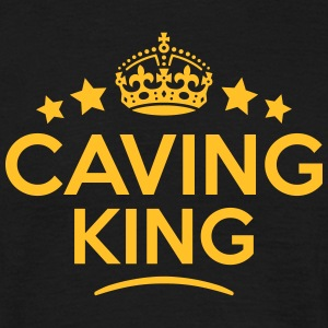 caving king keep calm style crown stars T-SHIRT - Men's T-Shirt