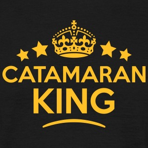 catamaran king keep calm style crown sta T-SHIRT - Men's T-Shirt
