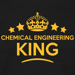 chemical engineering king keep calm styl T-SHIRT - Men's T-Shirt