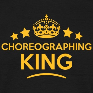 choreographing king keep calm style crow T-SHIRT - Men's T-Shirt