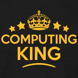 computing king keep calm style crown sta T-SHIRT - Men's T-Shirt