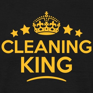 cleaning king keep calm style crown star T-SHIRT - Men's T-Shirt