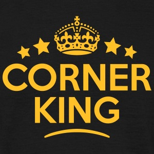 corner king keep calm style crown stars T-SHIRT - Men's T-Shirt