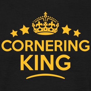 cornering king keep calm style crown sta T-SHIRT - Men's T-Shirt