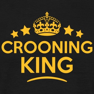 crooning king keep calm style crown star T-SHIRT - Men's T-Shirt