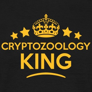 cryptozoology king keep calm style crown T-SHIRT - Men's T-Shirt