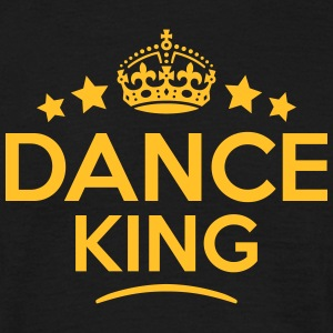 dance king keep calm style crown stars T-SHIRT - Men's T-Shirt