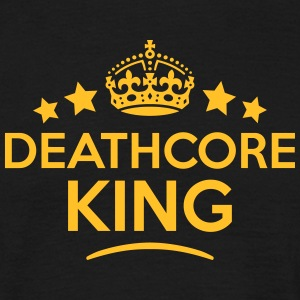 deathcore king keep calm style crown sta T-SHIRT - Men's T-Shirt