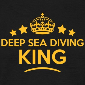 deep sea diving king keep calm style  T-SHIRT - Men's T-Shirt