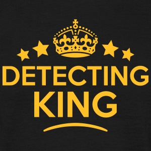 detecting king keep calm style crown sta T-SHIRT - Men's T-Shirt
