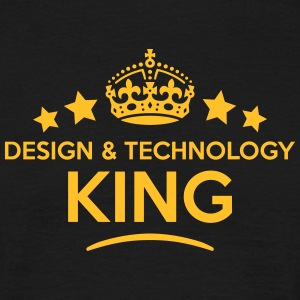 design  technology king keep calm style  T-SHIRT - Men's T-Shirt