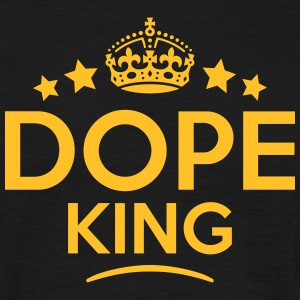 dope king keep calm style crown stars T-SHIRT - Men's T-Shirt