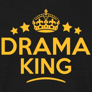 drama king keep calm style crown stars T-SHIRT - Men's T-Shirt