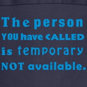 the person you have called  Aprons - Cooking Apron