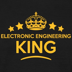 electronic engineering king keep calm st T-SHIRT - Men's T-Shirt