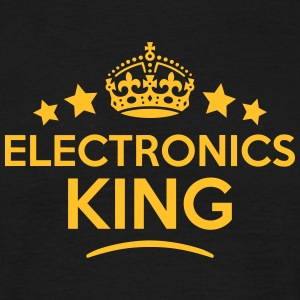 electronics king keep calm style crown s T-SHIRT - Men's T-Shirt