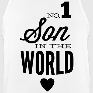 no1 son of the world Sportkleding - Mannen tanktop ademend
