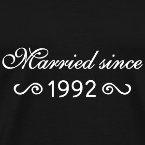 Married since 1992 T-Shirts - Männer Premium T-Shirt