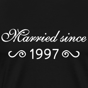Married since 1997 T-Shirts - Männer Premium T-Shirt