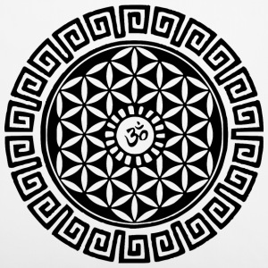 Om Flower of Life Other - Pillowcase 40 x 40 cm