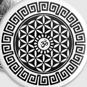 Om Flower of Life Buttons - Buttons large 56 mm