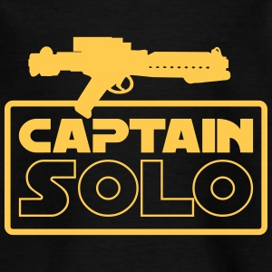 CAPTAIN SOLO • Kinder Shirt schwarz - Kinder T-Shirt