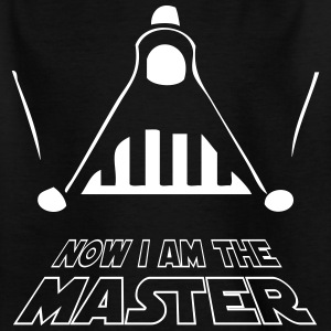 I AM THE MASTER • Kinder Shirt schwarz - Kinder T-Shirt