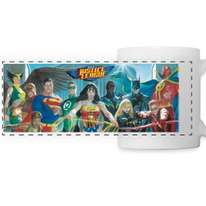 Justice League grupper kopp - Panoramakopp
