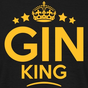 gin king keep calm style crown stars T-SHIRT - Men's T-Shirt