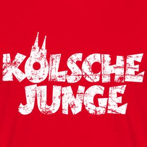 Kölsche Junge Vintage Weiß Köln Design