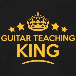 guitar teaching king keep calm style  T-SHIRT - Men's T-Shirt