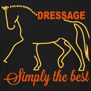 Dressage - simply the best Camisetas - Camiseta hombre