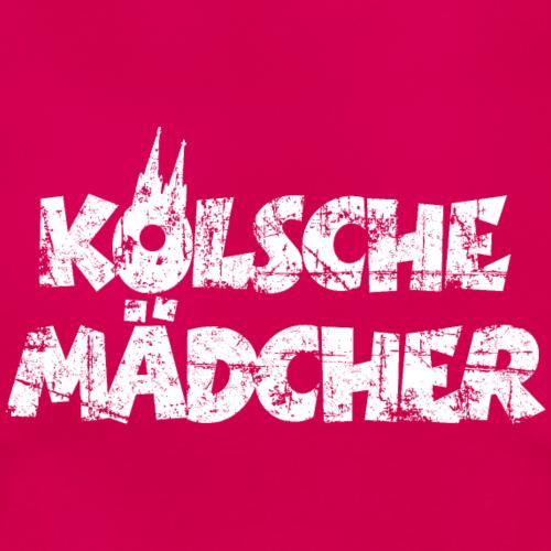 Kölsche Mädcher Vintage Weiß Köln Design